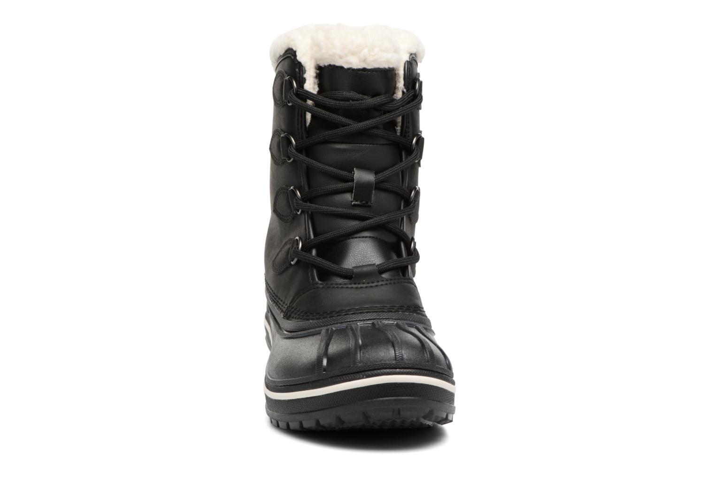 Chaussures de sport Crocs AllCast II Boot W Noir vue portées chaussures