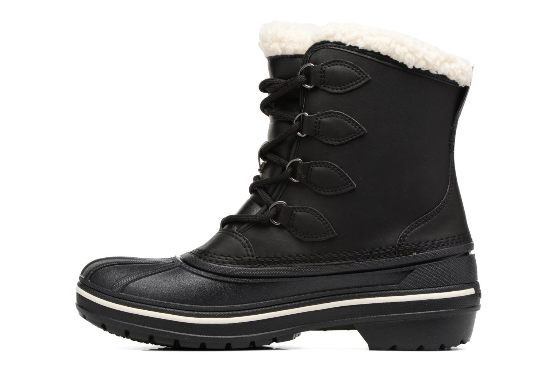 Chaussures de sport Crocs AllCast II Boot W Noir vue face