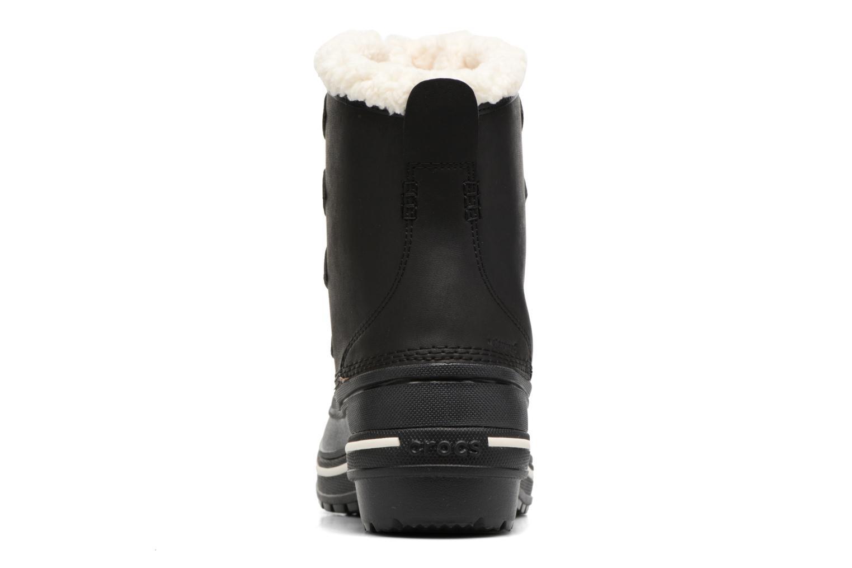 Chaussures de sport Crocs AllCast II Boot W Noir vue droite
