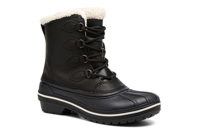 Chaussures de sport Crocs AllCast II Boot W Noir vue détail/paire
