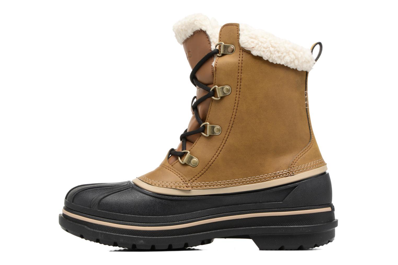 Stivali Crocs AllCast II Boot M Wht Marrone immagine frontale