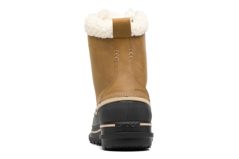 Stivali Crocs AllCast II Boot M Wht Marrone immagine destra