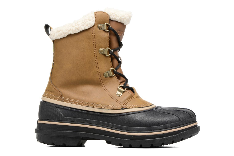 Stivali Crocs AllCast II Boot M Wht Marrone immagine posteriore