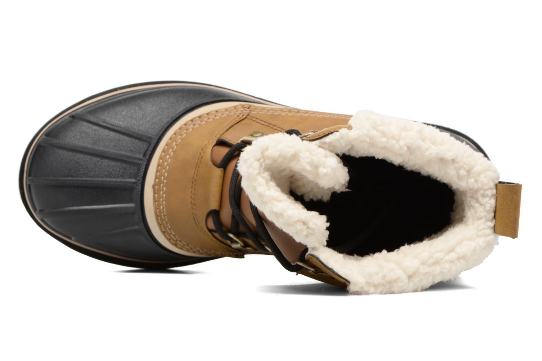 Stivali Crocs AllCast II Boot M Wht Marrone immagine sinistra