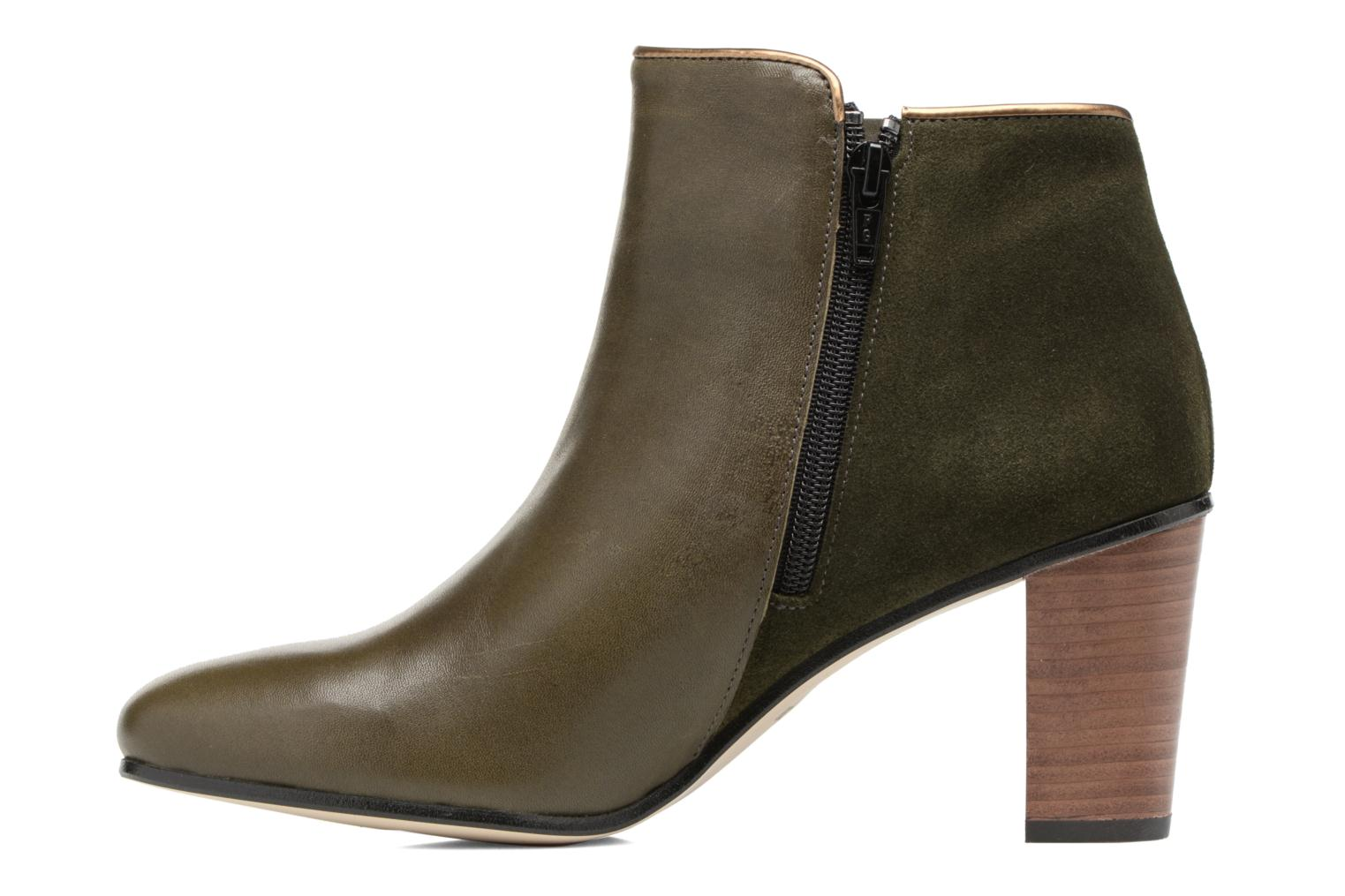 Bottines et boots Georgia Rose EOLIA Vert vue face