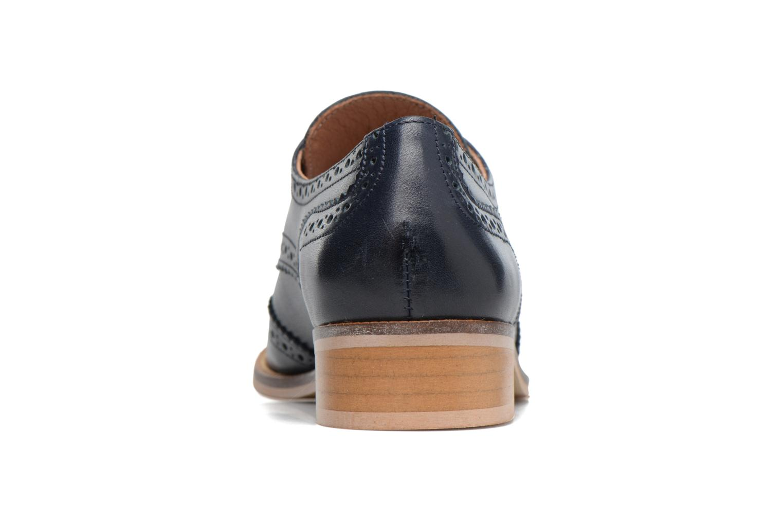 Chaussures à lacets Georgia Rose EMY Bleu vue droite