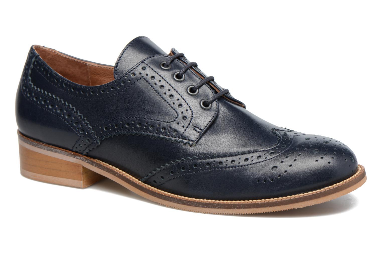 Chaussures à lacets Georgia Rose EMY Bleu vue détail/paire