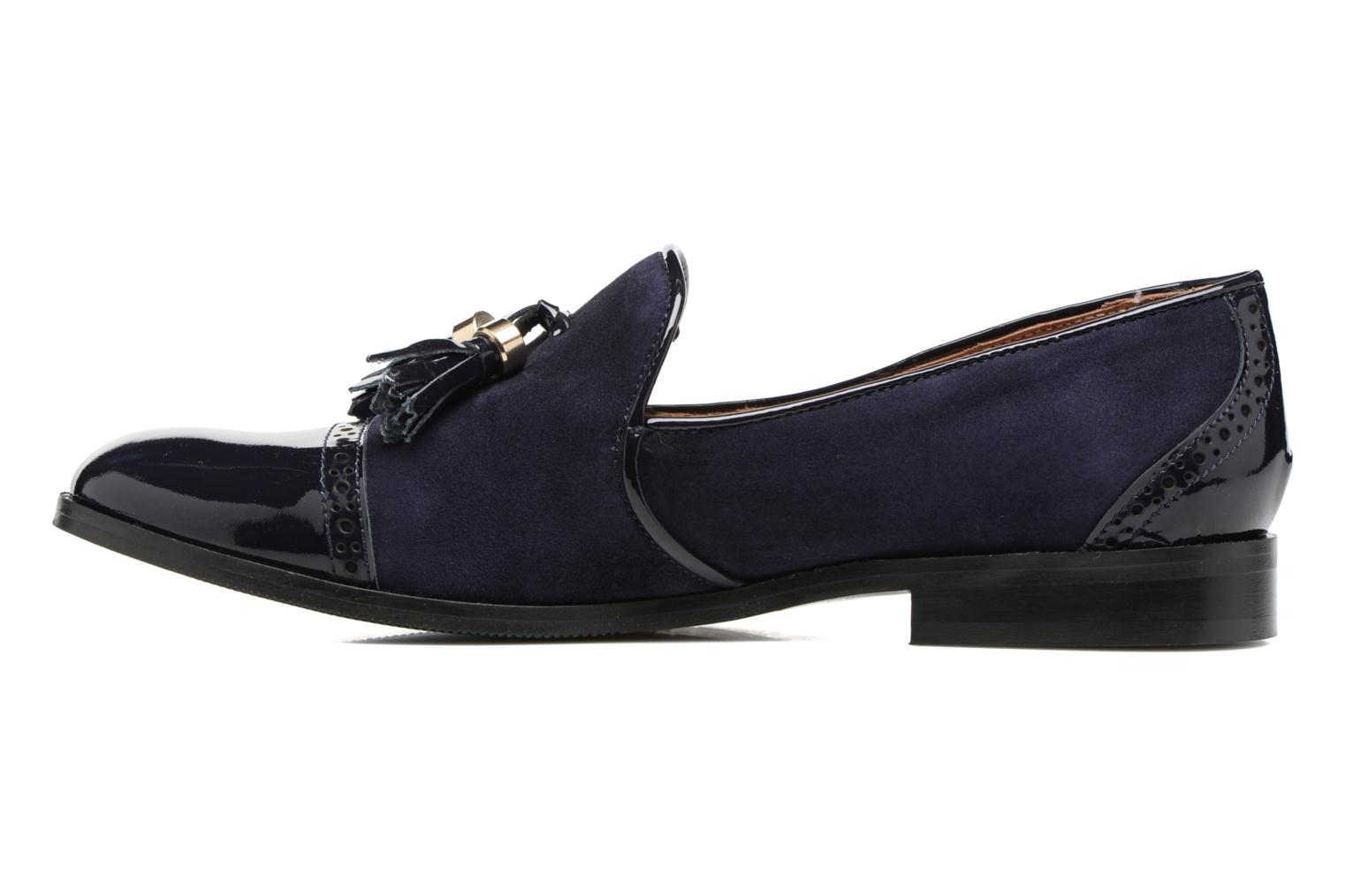 Loafers Georgia Rose EMILIA Blue front view
