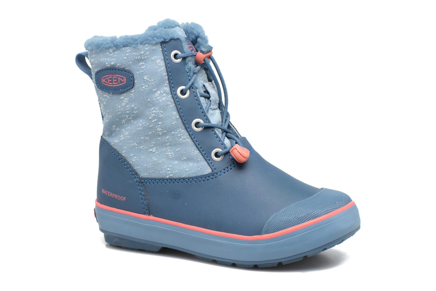 Elsa Boot WP Blue/Sugar Coral