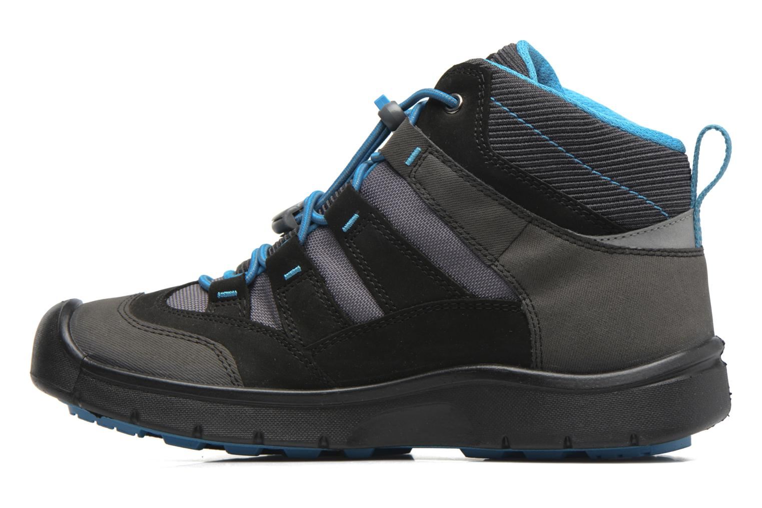 Chaussures de sport Keen Hikeport Mid youth Noir vue face
