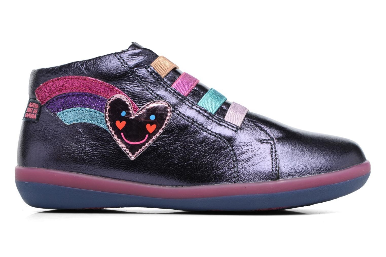Baskets Agatha Ruiz de la Prada Butterfly Bleu vue derrière