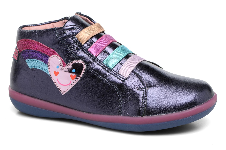 Baskets Agatha Ruiz de la Prada Butterfly Bleu vue détail/paire