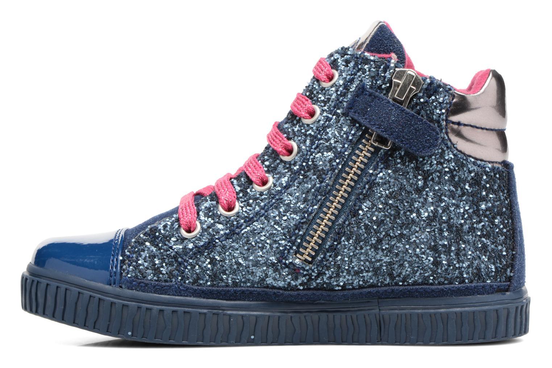 Sneakers Agatha Ruiz de la Prada Mini Lollipop 3 Azzurro immagine frontale