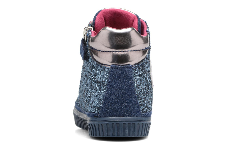 Baskets Agatha Ruiz de la Prada Mini Lollipop 3 Bleu vue droite
