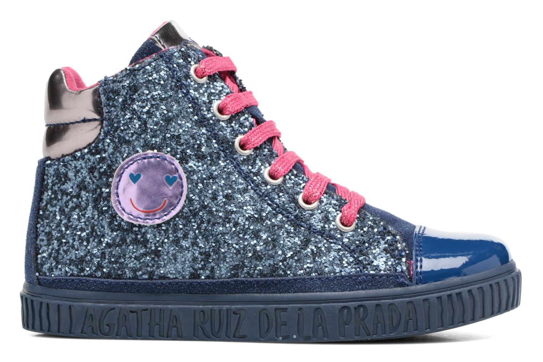 Sneakers Agatha Ruiz de la Prada Mini Lollipop 3 Azzurro immagine posteriore