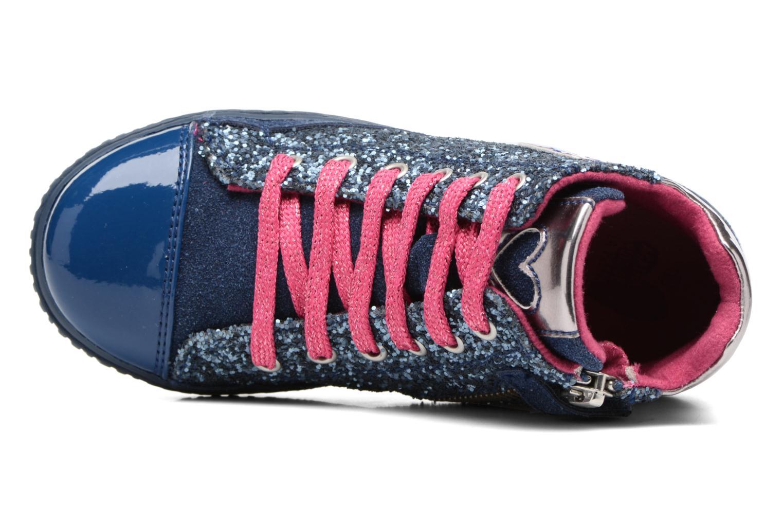 Sneakers Agatha Ruiz de la Prada Mini Lollipop 3 Azzurro immagine sinistra