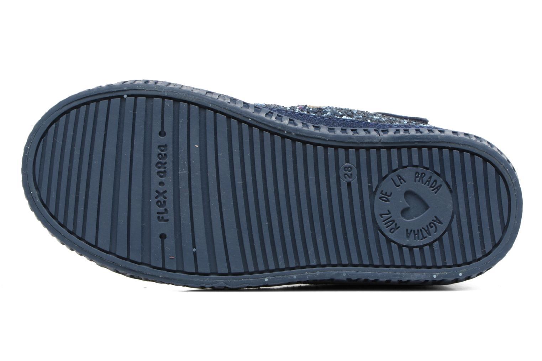 Sneakers Agatha Ruiz de la Prada Mini Lollipop 3 Azzurro immagine dall'alto
