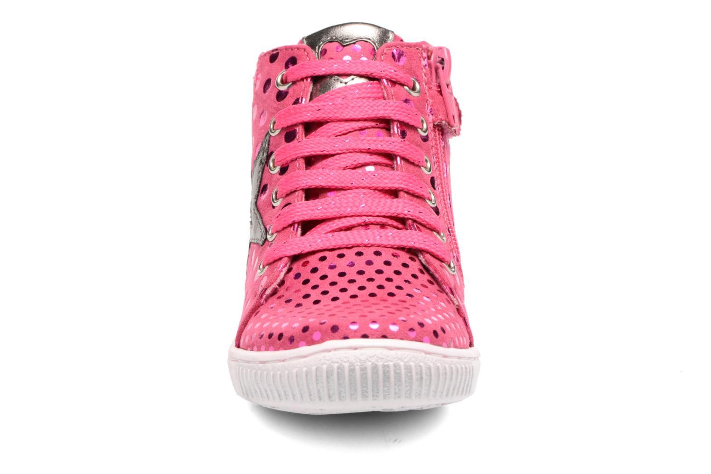 Baskets Agatha Ruiz de la Prada Flow 3 Rose vue portées chaussures
