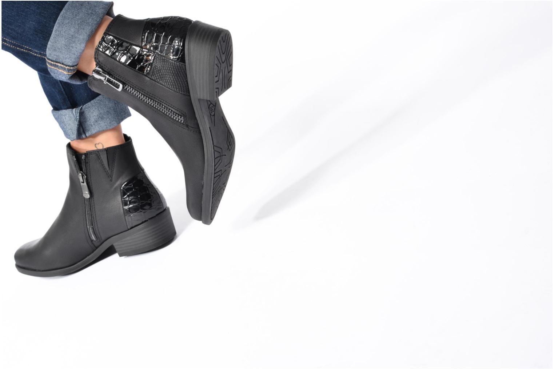 Bottines et boots Marco Tozzi Escolier 2 Noir vue bas / vue portée sac