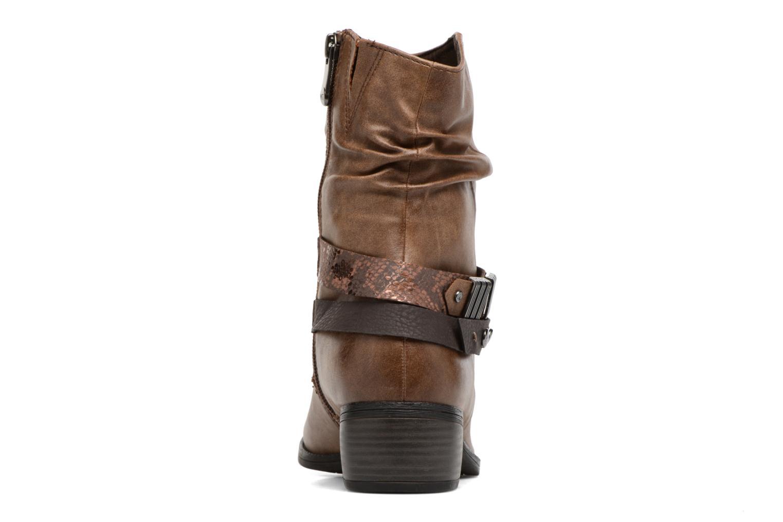 Bottines et boots Marco Tozzi Gappa Marron vue droite