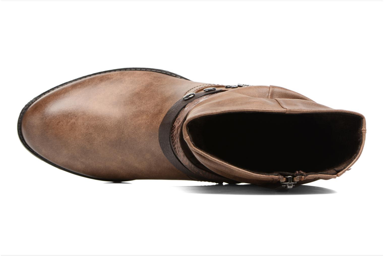 Bottines et boots Marco Tozzi Gappa Marron vue gauche