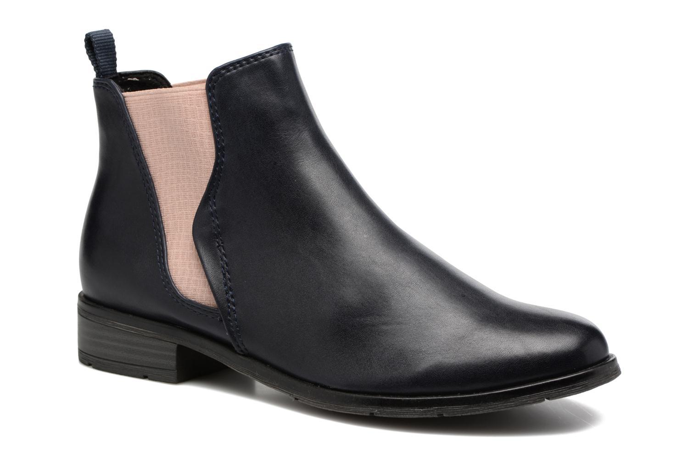 Bottines et boots Marco Tozzi Bapia Bleu vue détail/paire