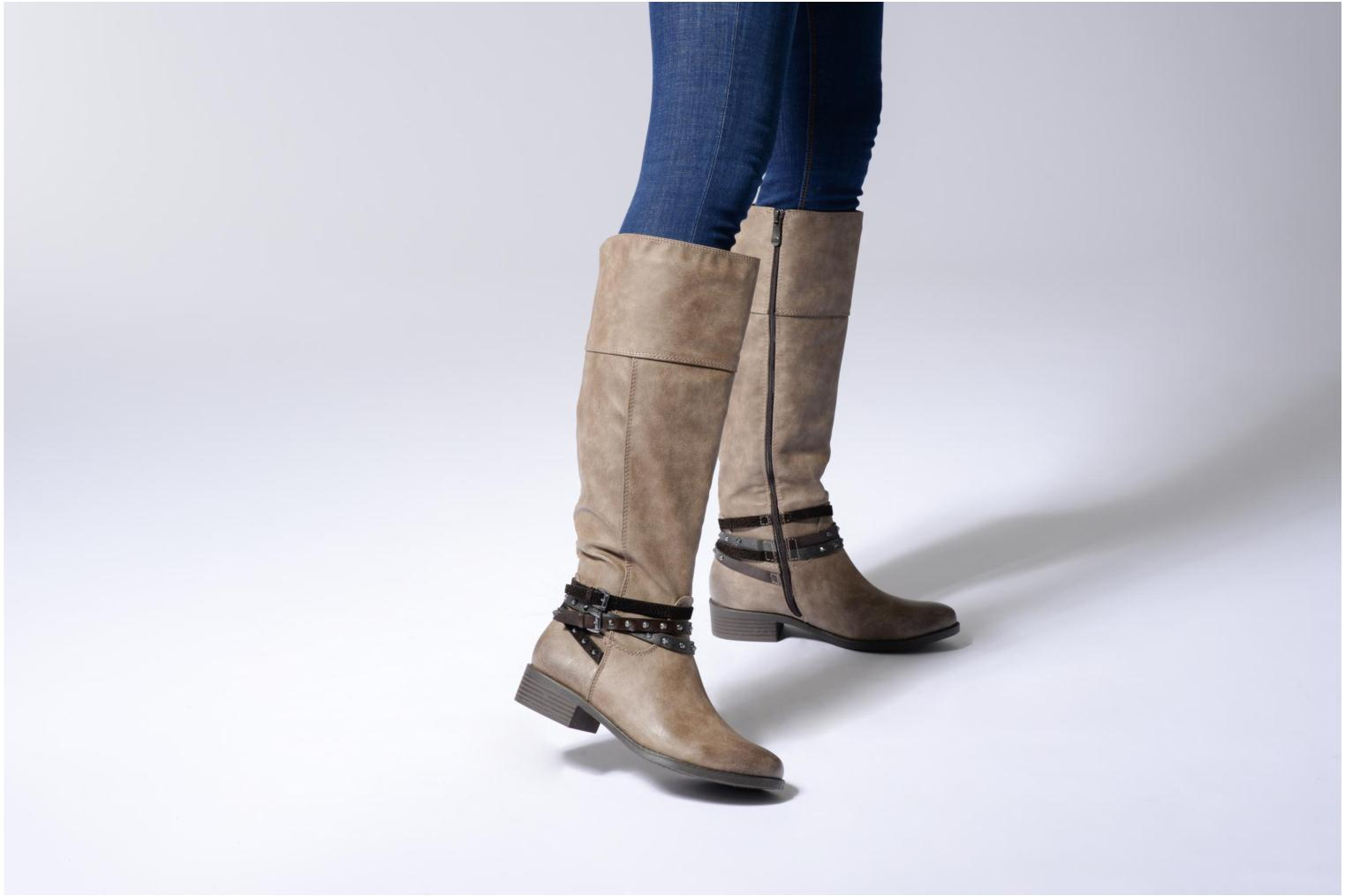 Boots & wellies Marco Tozzi Rason 2 Grey view from underneath / model view