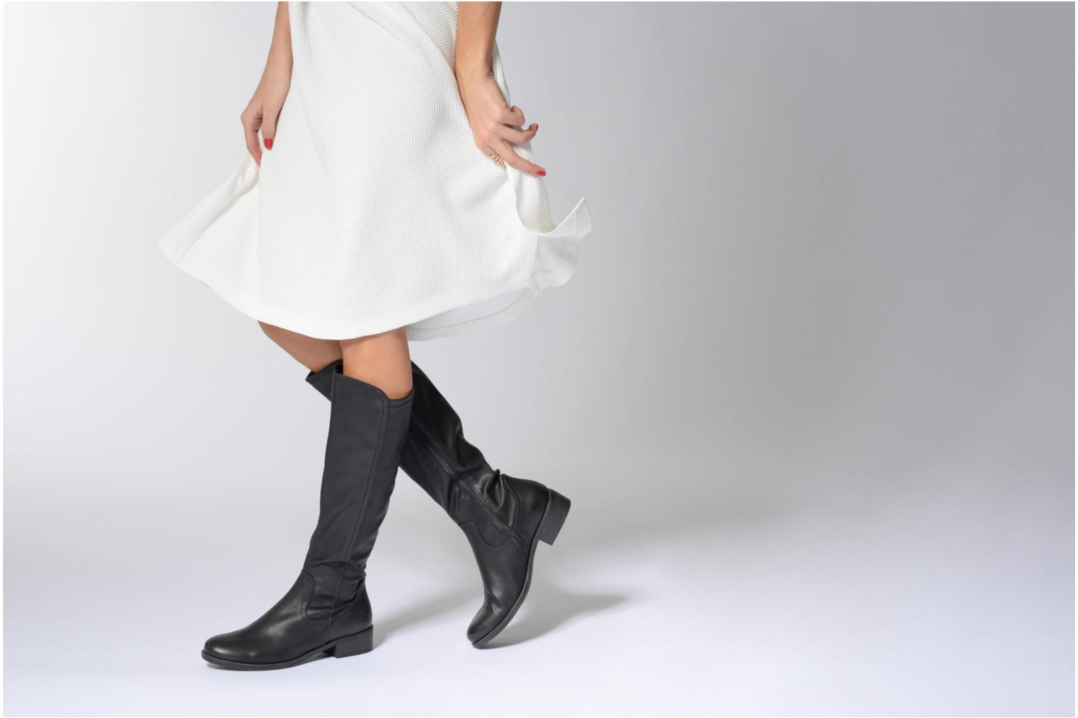 Boots & wellies Marco Tozzi Nili 2 Black view from underneath / model view