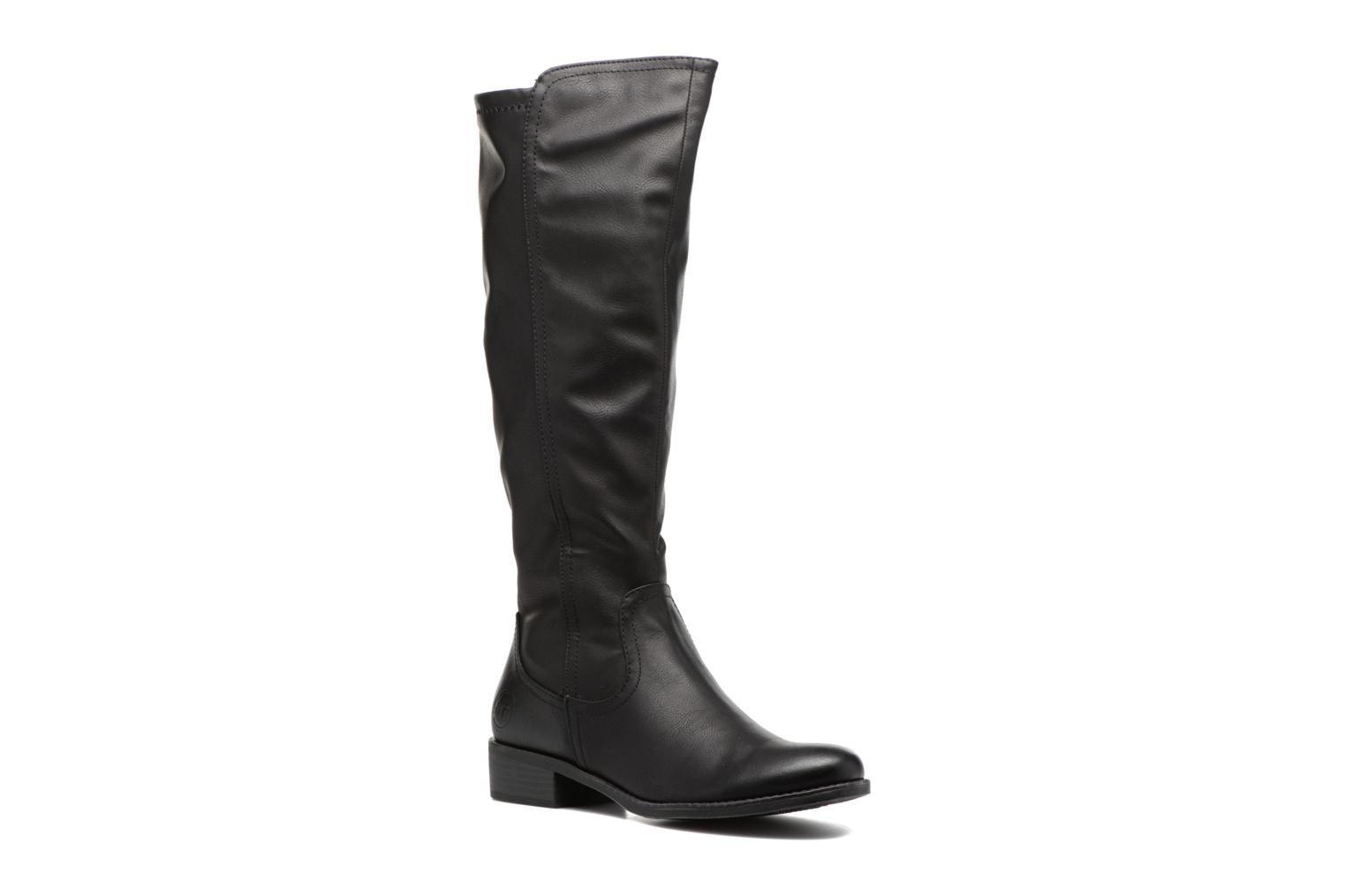 Boots & wellies Marco Tozzi Nili 2 Black detailed view/ Pair view