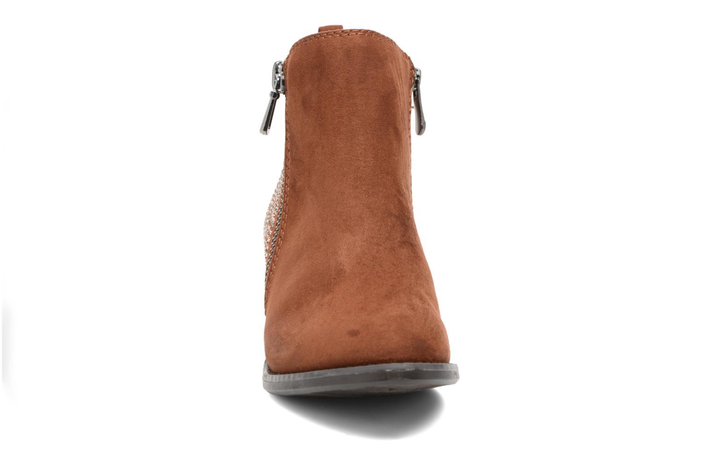 Bottines et boots Marco Tozzi Elea Marron vue portées chaussures