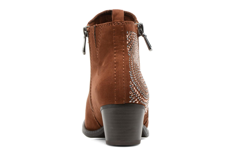 Bottines et boots Marco Tozzi Elea Marron vue droite