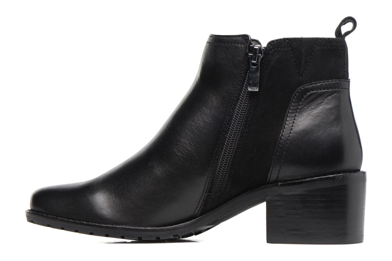 Bottines et boots Caprice Fiona Noir vue face