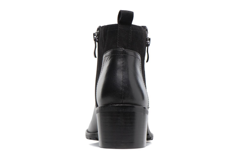Bottines et boots Caprice Fiona Noir vue droite