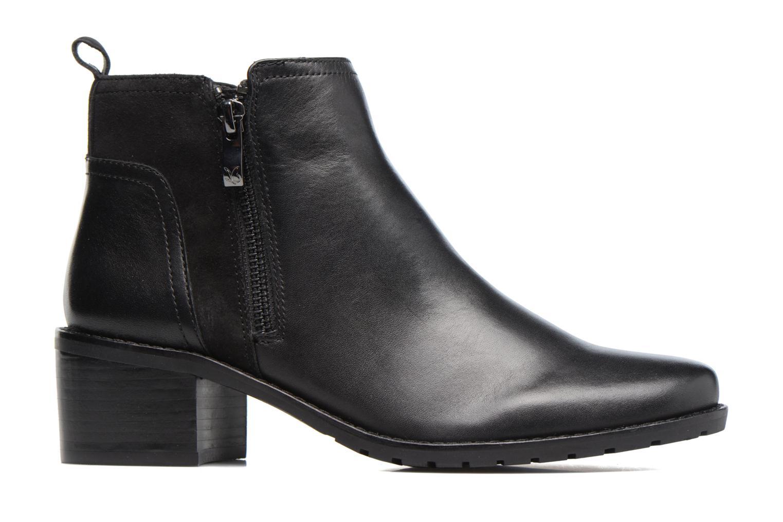 Bottines et boots Caprice Fiona Noir vue derrière