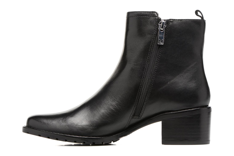Bottines et boots Caprice Aliana Noir vue face