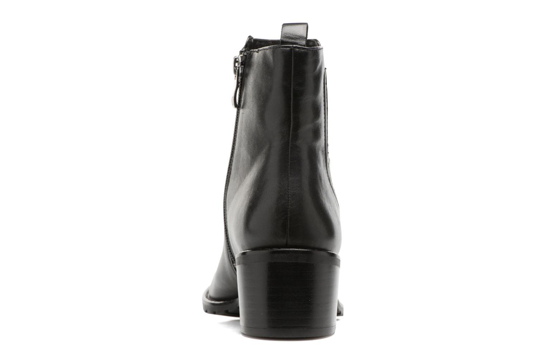 Bottines et boots Caprice Aliana Noir vue droite