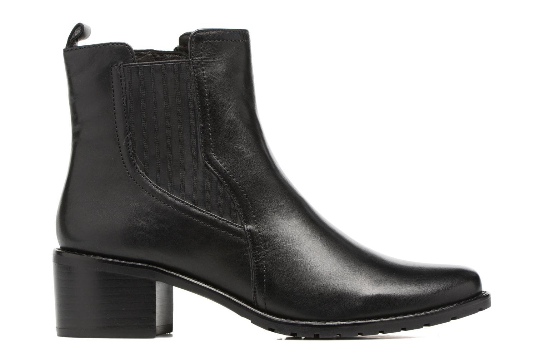 Bottines et boots Caprice Aliana Noir vue derrière