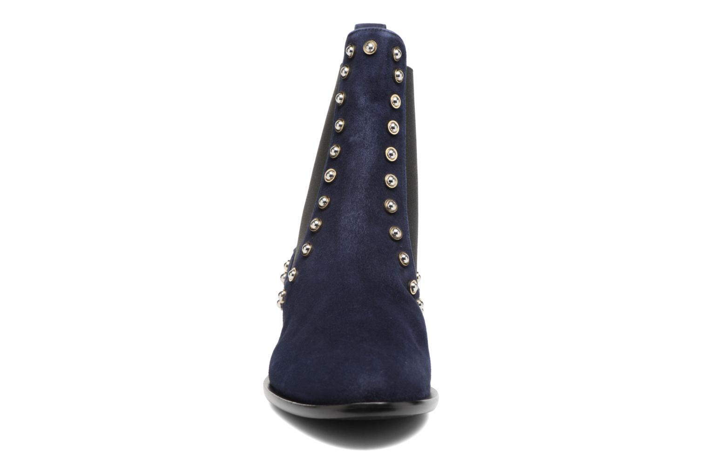 Bottines et boots Carven Odeon Bleu vue portées chaussures