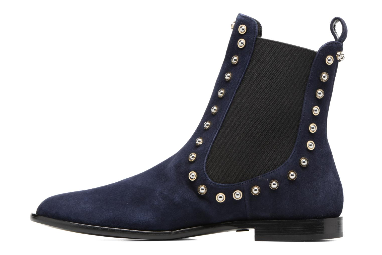 Bottines et boots Carven Odeon Bleu vue face