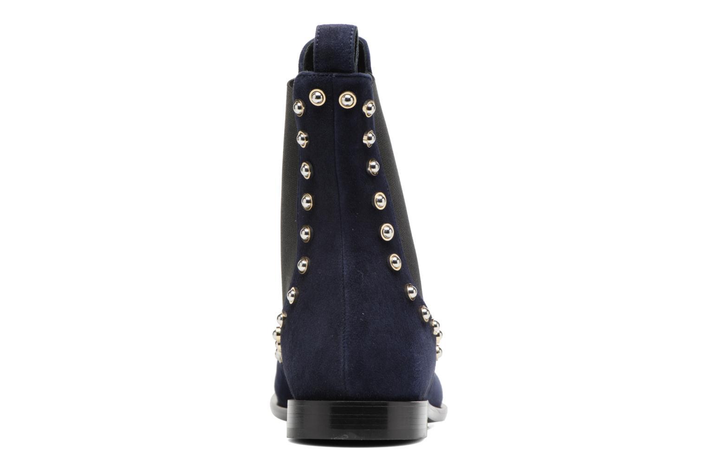 Bottines et boots Carven Odeon Bleu vue droite