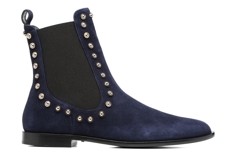 Bottines et boots Carven Odeon Bleu vue derrière