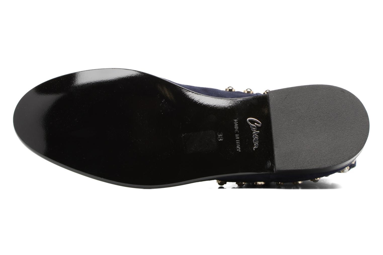 Bottines et boots Carven Odeon Bleu vue haut