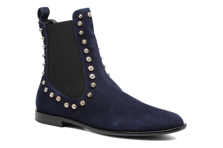 Bottines et boots Carven Odeon Bleu vue détail/paire