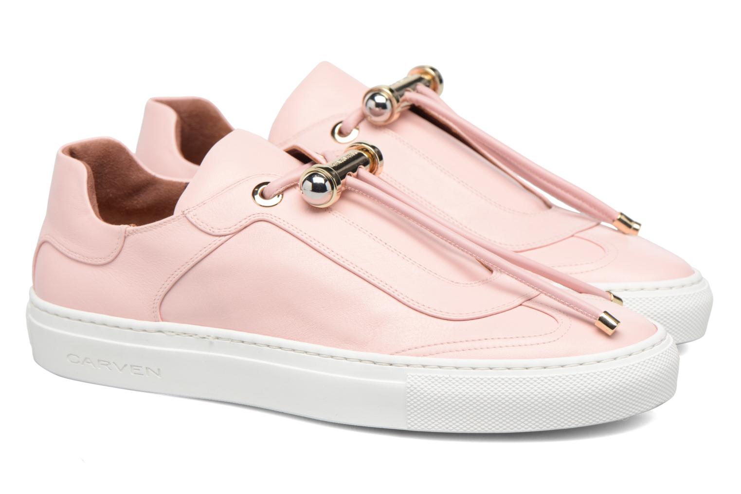 Trainers Carven Mabillon Pink 3/4 view