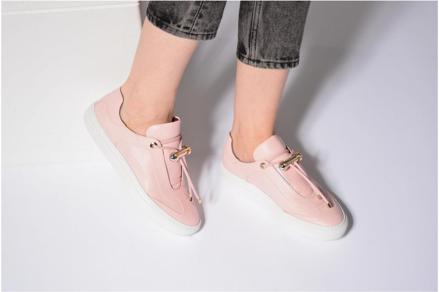 Trainers Carven Mabillon Pink view from underneath / model view