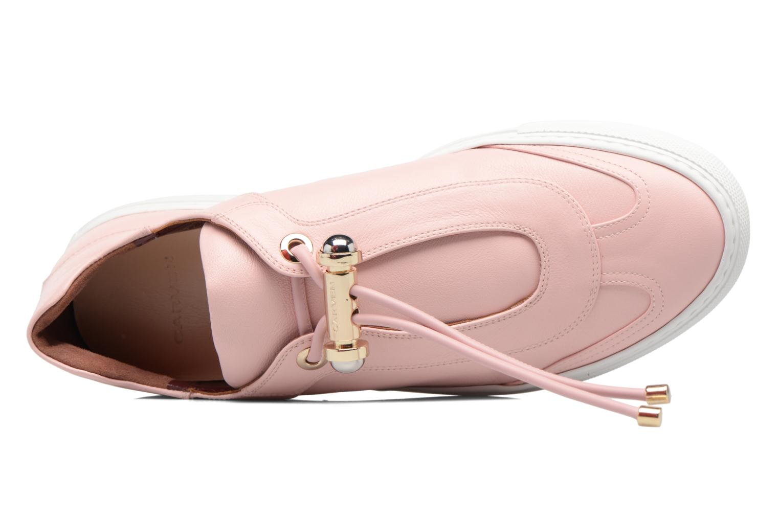 Trainers Carven Mabillon Pink view from the left