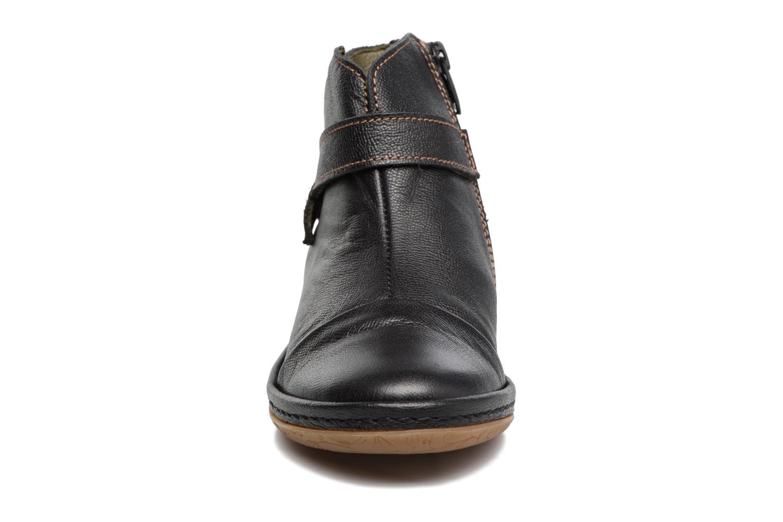 Bottines et boots El Naturalista E830 Nayade Noir vue portées chaussures