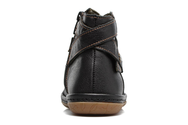 Bottines et boots El Naturalista E830 Nayade Noir vue droite