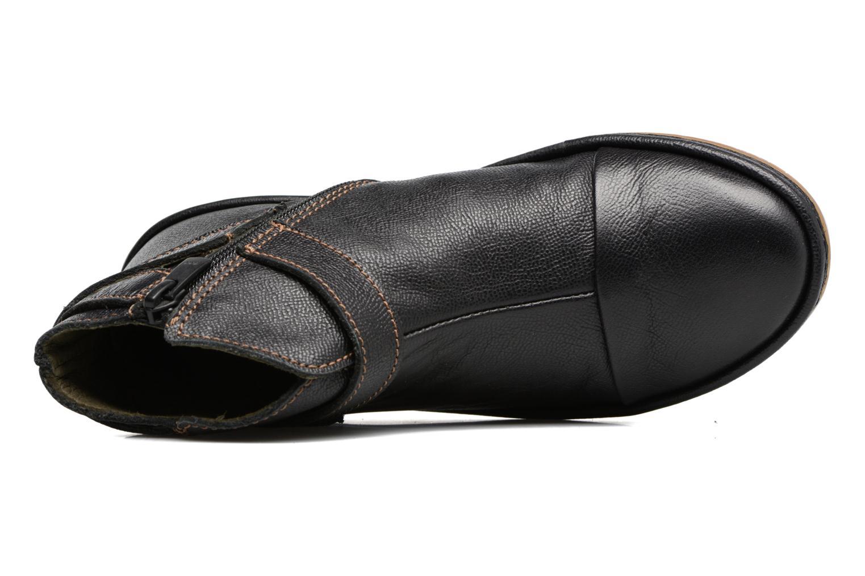 Bottines et boots El Naturalista E830 Nayade Noir vue gauche