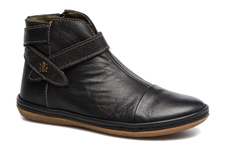 Bottines et boots El Naturalista E830 Nayade Noir vue détail/paire